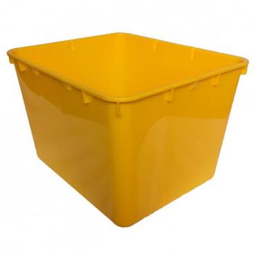Контейнер пластиковий відкритий Gigo (жовтий)