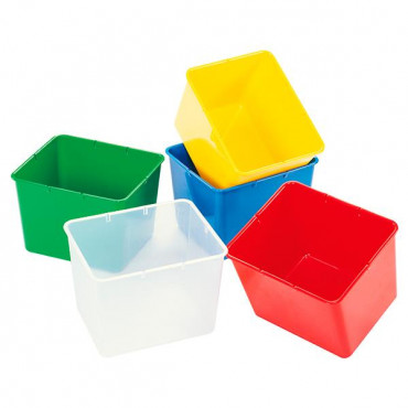 Контейнер пластиковый открытый Gigo (желтый)