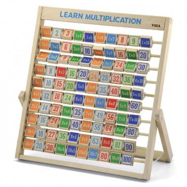 Деревянная игра Viga Toys Изучаем умножение