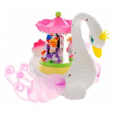 Музична іграшка Hola Toys Лебідь-карусель