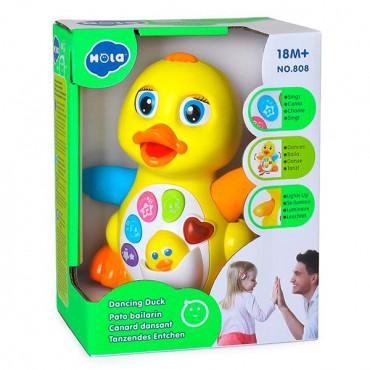 Музична іграшка Hola Toys Жовтий каченя