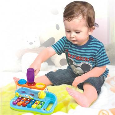 Музична іграшка Hola Toys Ксилофон-стукалка з кульками