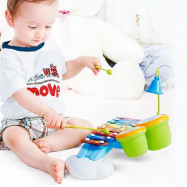Музичний ігровий набір Hola Toys Ксилофон з барабанами