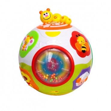 Музыкальная игрушка Hola Toys Мячик