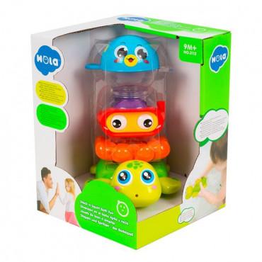 Набор игрушек для ванной Hola Toys Веселое купание