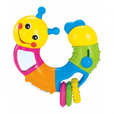 Погремушка Hola Toys Веселый червячок