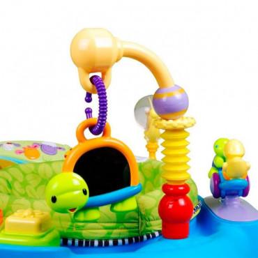 Ігровий розвиваючий центр Hola Toys Музичний стільчик (блакитний)