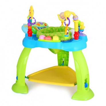 Игровой развивающий центр Hola Toys Музыкальный стульчик (голубой)