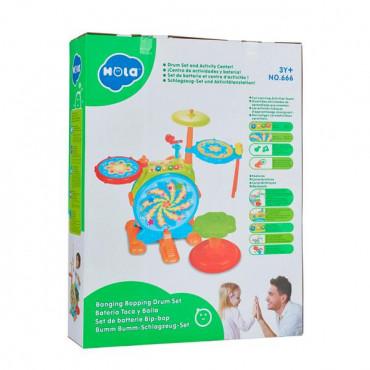 Музична іграшка Hola Toys Барабанна установка