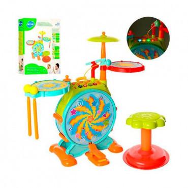 Музыкальная игрушка Hola Toys Барабанная установка