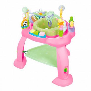 Игровой развивающий центр Hola Toys Музыкальный стульчик (розовый)