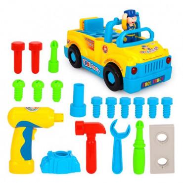 Музична машинка Hola Toys Вантажівка з інструментами