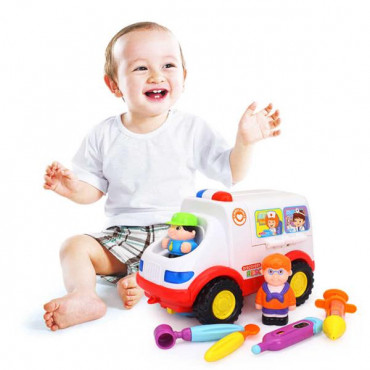 Музична машинка Hola Toys Швидка допомога з інструментами