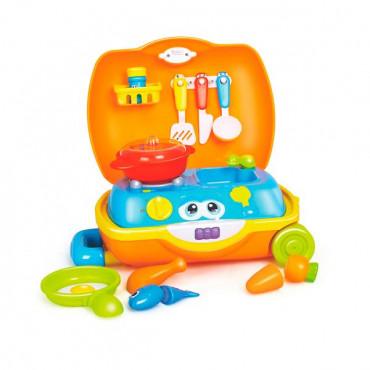 Игровой набор Hola Toys Чемоданчик повара
