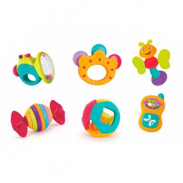 Набор погремушек Hola Toys, 6 шт.