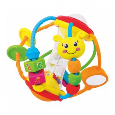 Брязкальце Hola Toys Веселий м'ячик R