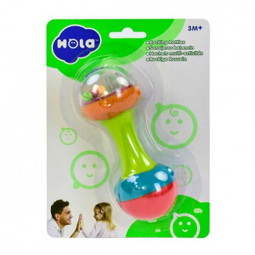 Погремушка Hola Toys Гантелька