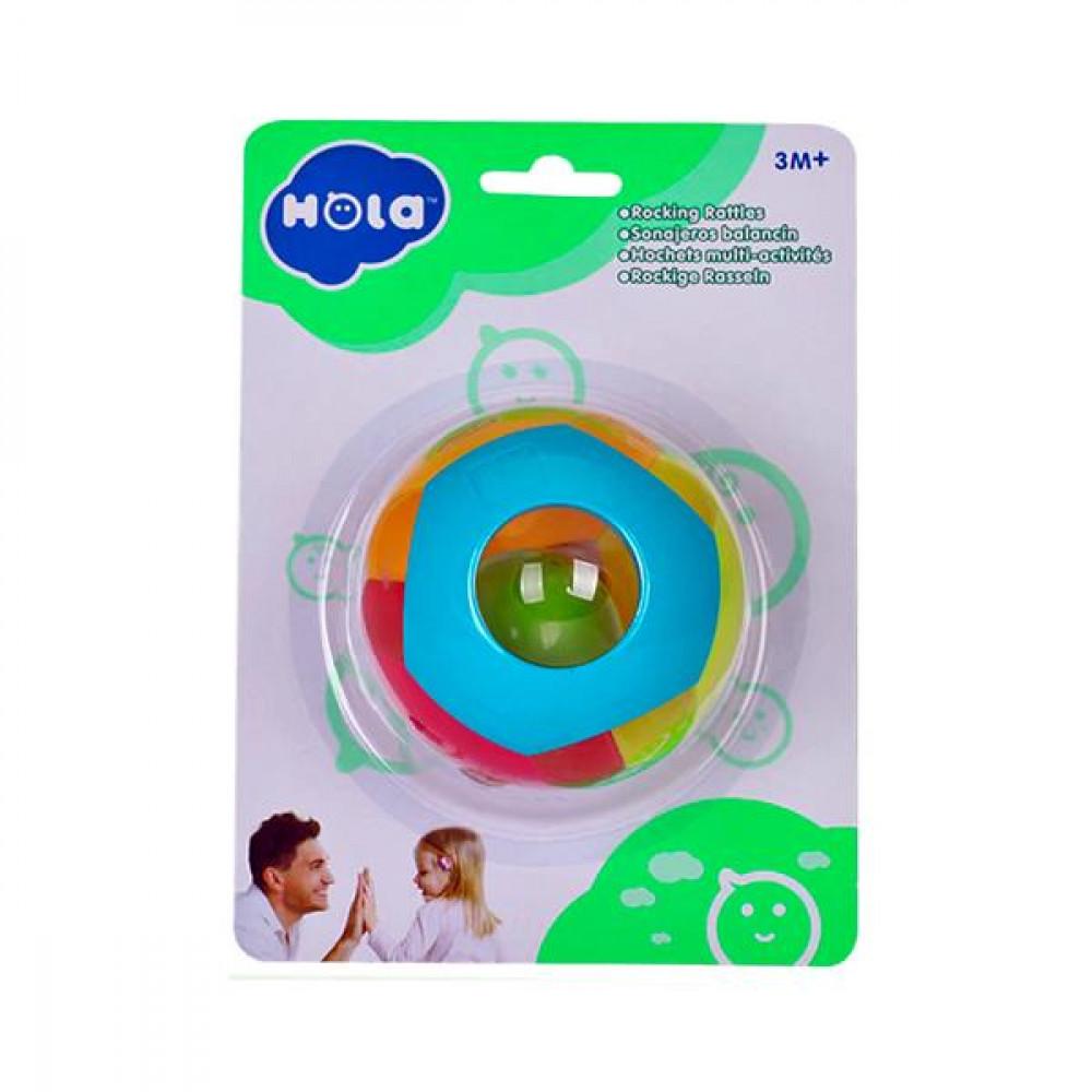 Брязкальце Hola Toys Подвійний кулька