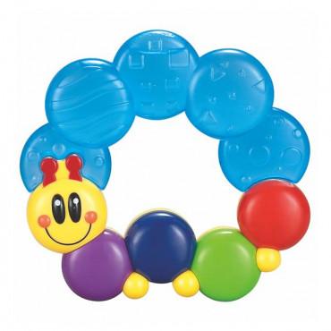 Прорізувач для зубів Hola Toys Весела гусінь