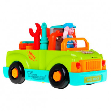 Музична машинка Hola Toys Вантажівка з інструментами R