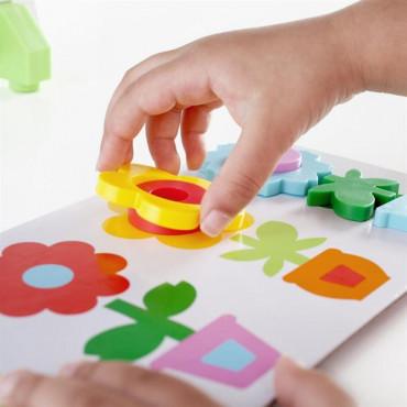 Тематический набор магнитов Guidecraft Manipulatives Цветы