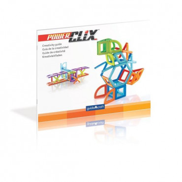Магнітний конструктор Guidecraft PowerClix Frames, 100 деталей