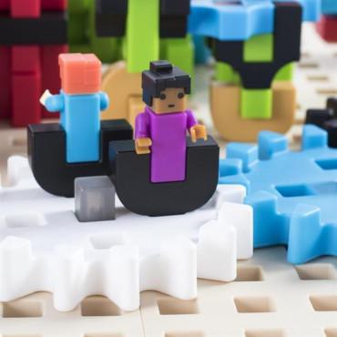 Конструктор для обучения Guidecraft IO Blocks Center со столом для класса, 458 деталей