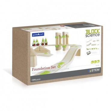 Деревянная дорога Guidecraft Block Science Мосты мира, 55 деталей