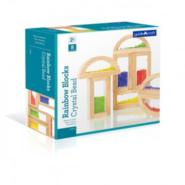 Ігровий набір блоків Guidecraft Block Play Намистини, 14 см, 8 шт.