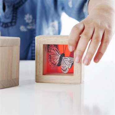 Ігровий набір блоків Guidecraft Natural Play Скарби в кольорових ящиках