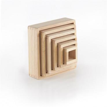 Игровой набор блоков Guidecraft Block Play Цветная пирамидка