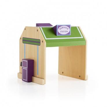 Набір будівель Guidecraft Block Play до Дорозі з дерева, 6 шт.