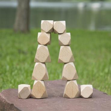 Набір дерев'яних блоків Guidecraft Natural Play Стоунхендж