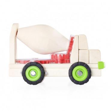 Іграшкова машина Guidecraft Block Science Trucks Велика бетономішалка