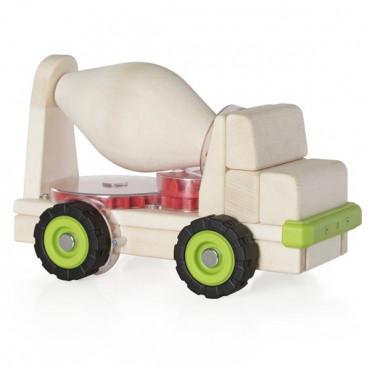 Игрушечная машина Guidecraft Block Science Trucks Большая бетономешалка