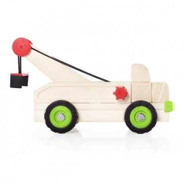 Игрушечная машина Guidecraft Block Science Trucks Большой эвакуатор