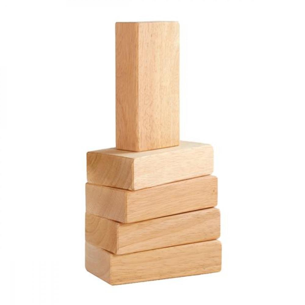 Набір дерев'яних брусків Guidecraft Block Mates, 5 шт.