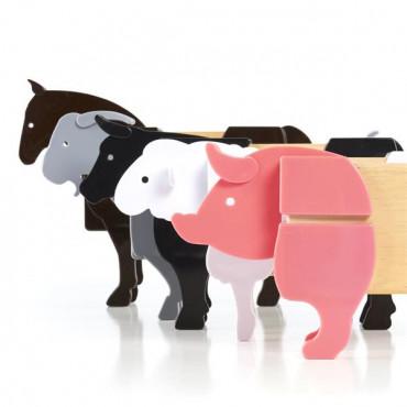 Ігровий набір Guidecraft Block Mates Тварини на фермі (без блоків)