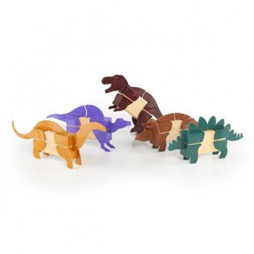Ігровий набір Guidecraft Block Mates Динозаври (без блоків)