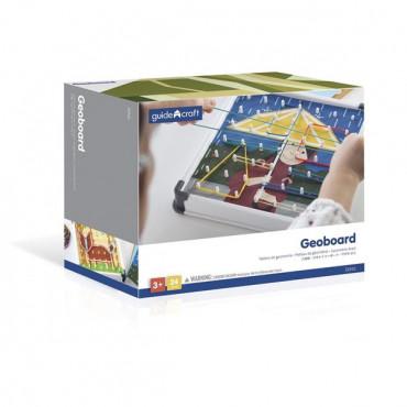 Логічна гра з гумками Guidecraft Геоборд, 20 шаблонів