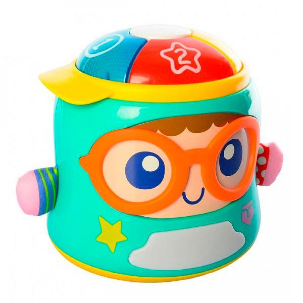 Інтерактивна іграшка-нічник Hola Toys Щасливий малюк