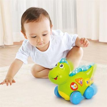 Музична розвиваюча іграшка Hola Toys Динозавр