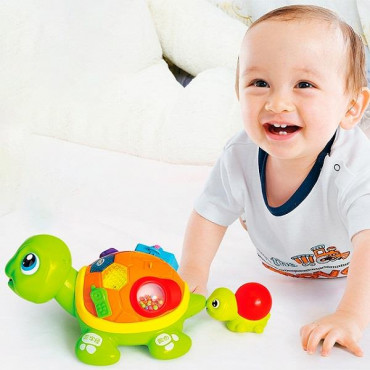 Інтерактивна музична іграшка Hola Toys Черепашки