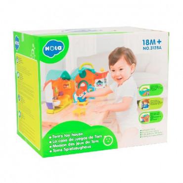 Музыкальная развивающая игрушка Hola Toys Кукольный домик Тома