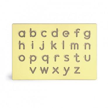 Деревянная доска Viga Toys Написание строчных букв