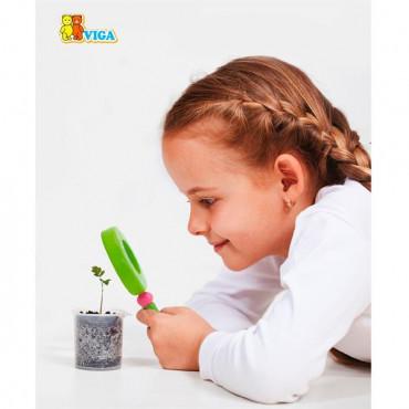 Деревянная игрушка Viga Toys Увеличительное стекло