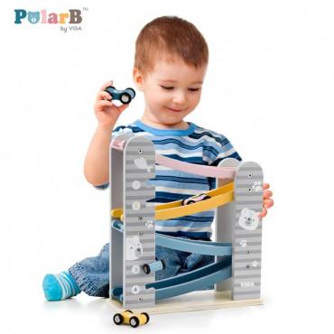 Дерев'яний ігровий набір Viga Toys PolarB Трек
