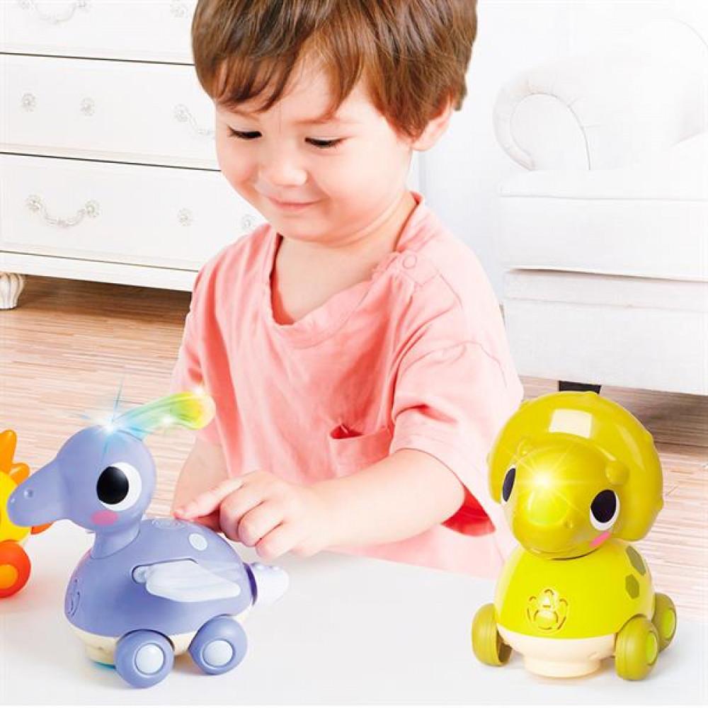 Музична іграшка Hola Toys Тріцератопс