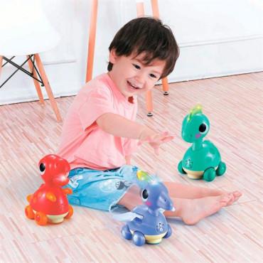 Музыкальная игрушка Hola Toys Коритозавр