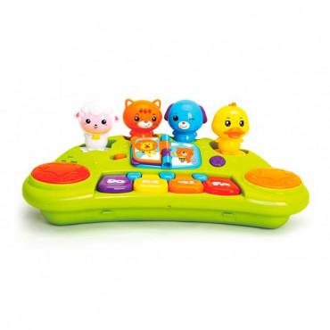 Ходунки Hola Toys з піаніно і звірятами